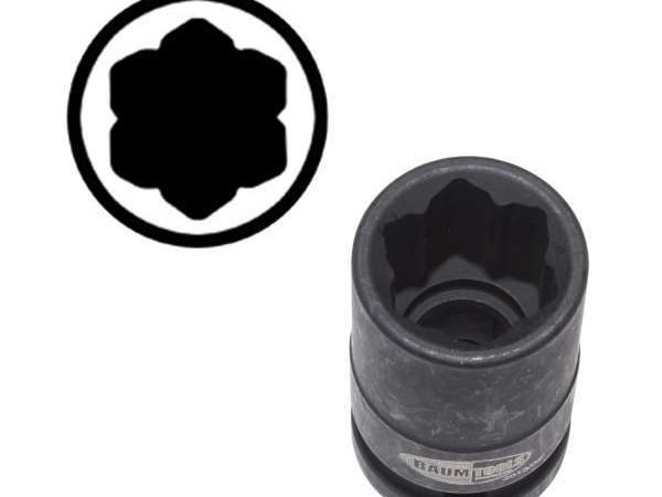 000-5407 17mm Wheel Lug Socket