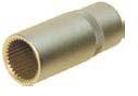 INJECTION PUMP STUB PIPE & PRESSURE VALVE SERRATED SOCKET
