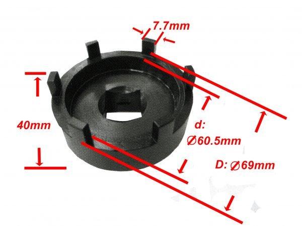 Rear Axle Socket BS9290