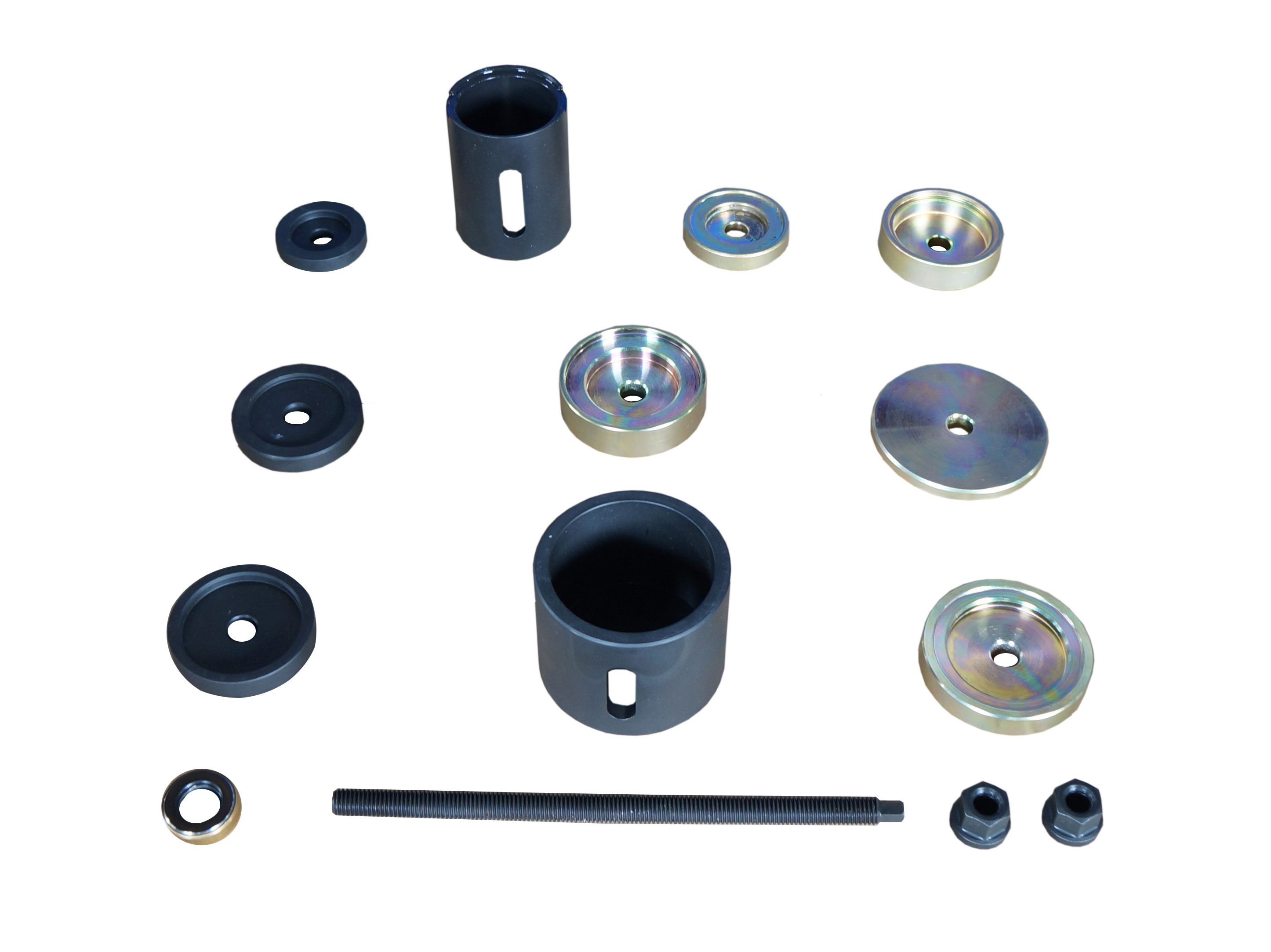 B211-0343Rear Differential Rear and Front Bushing R&I Kit