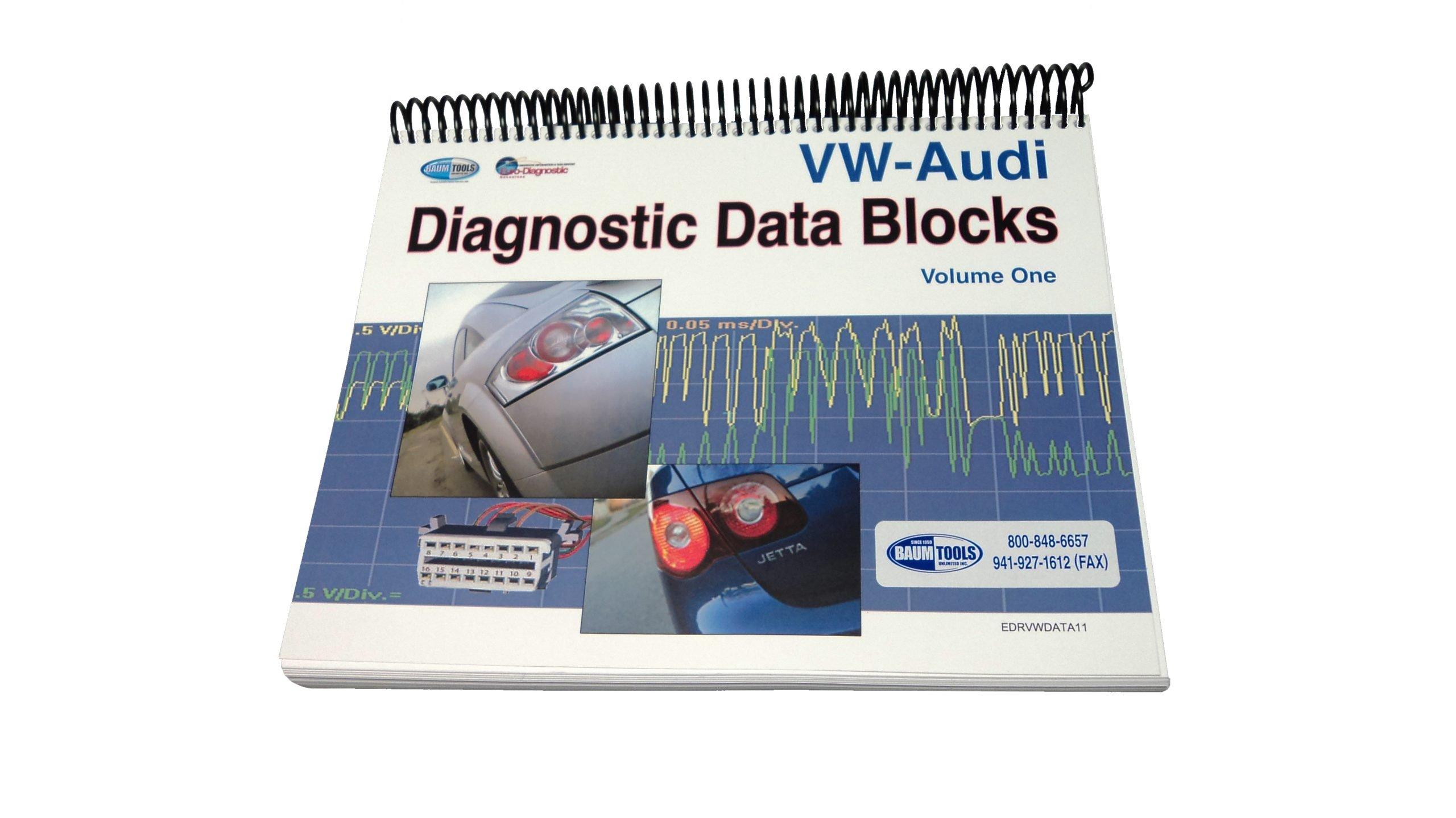 VW-Audi Diagnostic Data Blocks, Volume One