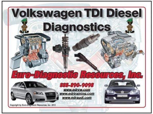 Volkswagen TDI Diesel Diagnostics